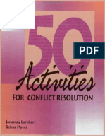 0874254981 50 Activities for Conflict Resolution