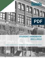 Student Handbook 01.09.11