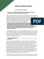 El Analisi de Los Dilemas Eticos Ma Costa Alcaraz
