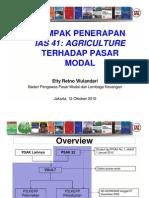 7-Dampak Penerapan IAS 41 Terhadap Pasar Modal