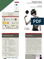 II Congreso Sociedad Digital   Programa