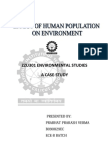 Effect of Population on Environment-case Study-nitc