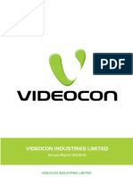 Videocon Annual Report 2010