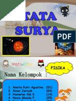 PPT. Tata Surya