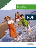 MBF Information Memorandum