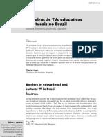 Barreiras às tvs educativas e culturais no Brasil