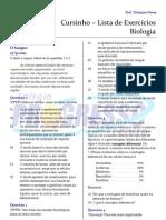 Cursinho - Biologia - Lista 02 - Sangue