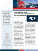 Can Turkey Inspire? Part II -- Turkish Civil Society
