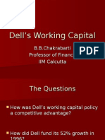 Dell's Working Capital(1)