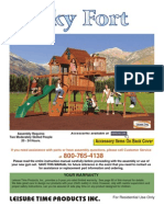 Skyfort Cedar Play Set With Slide 1180_man