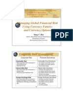 ARTICLE - Managing Global Financial Risk Using Currency Futu