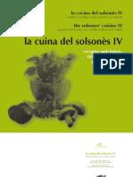 llibre cuina solsonès IV - CTFC-2009