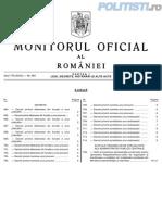 O.M.A.I.pentru aprobarea Regulamentului cadru de organizare și funcționare a unităților de învățământ postliceal din M.A.I.