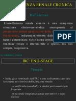Trattamento Odontoiatrico Nei Pazienti Con IRC (Dr COSCIA)