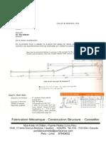 Plataformas , Fajas de Transmision para Minerales , Costos -  Diseño Ing Oscar Portalanza and Edgar Portalanza