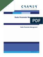 Radio Parameter Management for Mobile Operators - 061222