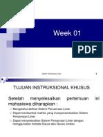 Week 01