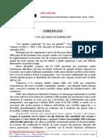 Comun. UILCOM Toscana Voi Quando Sci Operate Set 11 Con Logo
