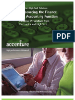 Outsourcing the Finance and Accounting Function 3123