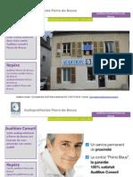 Audition Conseil Pierre-de-Bresse - Audioprothesiste Pierre