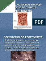 14. Peritonitis
