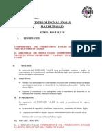 Plan de Trabajo Centro de Idiomas 2011 Doc1