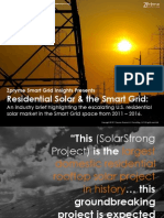 [Smart Grid Market Research] Residential Solar & the Smart Grid, Zpryme Smart Grid Insights, September 2011