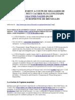 Lettre ouverte du Dr Rath - l'UE démasquée