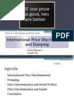 International Price Discrimination and Dumping_v2