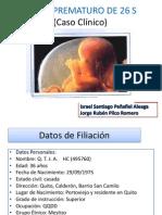 Caso Clinico Parto Prematuro