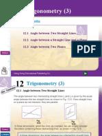 Chapter 12 Trigonometry (3)
