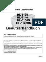Brother HL5140 Handbuch