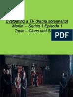 Analysing Merlin Screen Shot