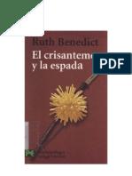 Benedict Ruth - El Crisantemo Y La Espada