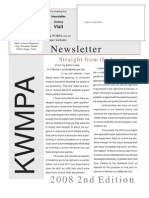 May 2008 Newsletter Kwmpa