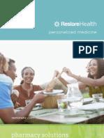 Restore Health Brochure
