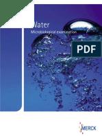 Catálogo Microbiología Del Agua MERCK