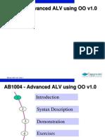 Advance Alv