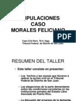 Estipulaciones Caso Morales Feliciano