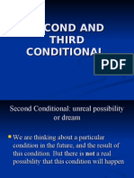 Second and Third Conditional