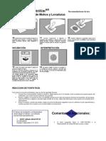 Placas 3M Para Hongos y Levaduras Instrucciones de Uso