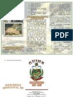 TRIPTICO - Gobierno Municipal de Quime - TURISMO