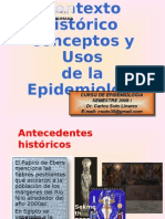 Conceptos y Usos de La Epidemiología