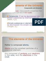 Chemical Matter