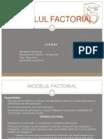 Modelul Factorial