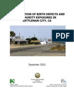 California Environmental Agency (CAEPA) Report