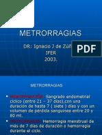 Metrorragias Clase Uba