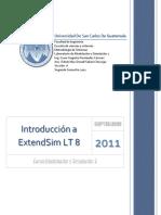 Introducción a ExtendSim 8