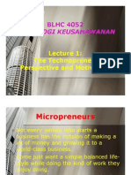 l1 - Technopreneur Perspective & Motivation
