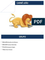 Apresentação trabalho sobre Carnê leão22